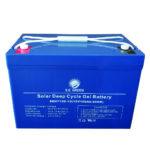 Batería de Gelatina (libre de mantenimiento) S.E Green 12 Voltios 100 Ah
